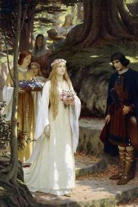 My Fair Lady, 1914 by Edmund Blair Leighton