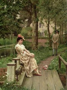 Off, 1899 by Edmund Blair Leighton