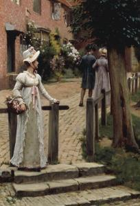 Sally, 1895 by Edmund Blair Leighton