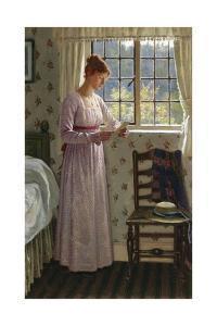 Seclusion by Edmund Blair Leighton