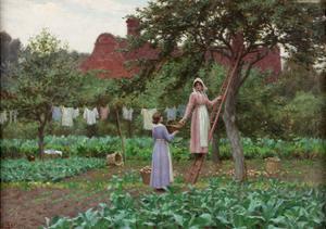 September, 1915 by Edmund Blair Leighton