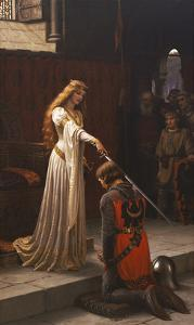 The Accolade, 1901 by Edmund Blair Leighton