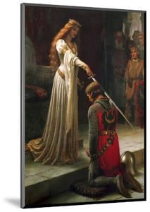 The Accolade, 1901 by Edmund Blair Leighton