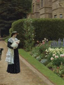 The Lord of the Manor by Edmund Blair Leighton