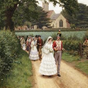 The Wedding March by Edmund Blair Leighton