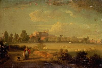 A View of Eton from the Playing Fields, 1822