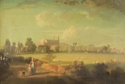A View of Eton from the Playing Fields