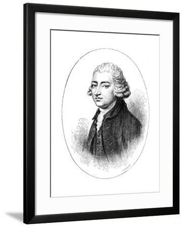 Edmund Burke, Anglo-Irish Statesman, Author, Orator, Political Theorist, and Philosopher-Whymper-Framed Giclee Print