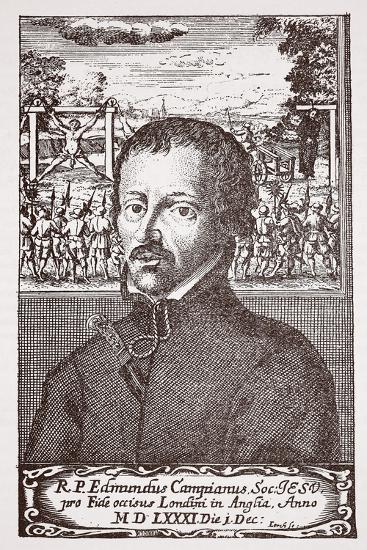 Edmund Campion--Giclee Print