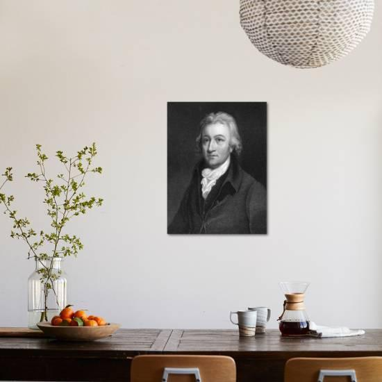 Edmund Cartwright English Clergyman And Inventor Giclee Print By J