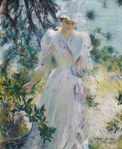 A Summer Idyll by Edmund Charles Tarbell