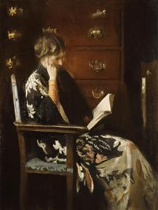 Mary Reading by Edmund Charles Tarbell