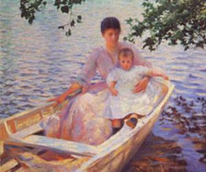 Mother And Child by Edmund Charles Tarbell