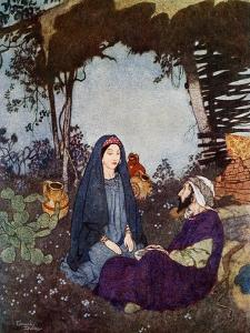 If the Dessert Were My Home, the Would I Let the World Go By, C1900-1950 by Edmund Dulac