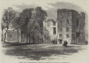 Dilston Castle, Northumberland, Formerly the Residence of the Earls of Derwentwater by Edmund Morison Wimperis