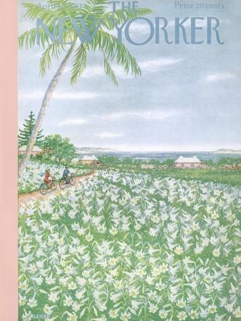 The New Yorker Cover - April 20, 1957