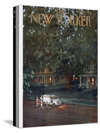 The New Yorker Cover - August 24, 1957