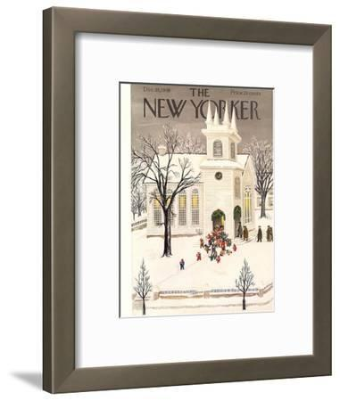 The New Yorker Cover - December 18, 1948