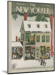 The New Yorker Cover - December 21, 1946 by Edna Eicke