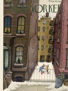 The New Yorker Cover - February 2, 1946 by Edna Eicke