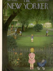 The New Yorker Cover - July 29, 1950 by Edna Eicke