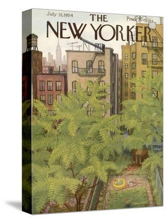 The New Yorker Cover - July 31, 1954