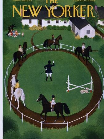 The New Yorker Cover - June 18, 1949