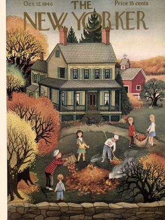 The New Yorker Cover - October 12, 1946