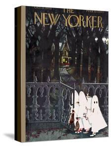 The New Yorker Cover - October 27, 1945 by Edna Eicke