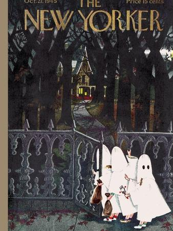 The New Yorker Cover - October 27, 1945