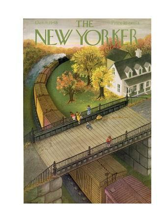 The New Yorker Cover - October 9, 1948