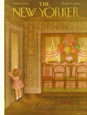 The New Yorker Cover - September 29, 1951