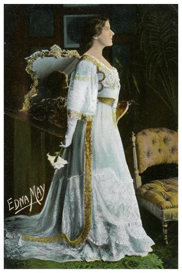 Edna May, American Actress and Singer, C1900-1919--Giclee Print