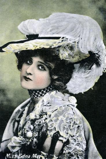 Edna May, American Singer and Actress, Early 20th Century--Giclee Print
