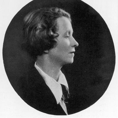 Edna St Vincent Millay American Poet--Photographic Print