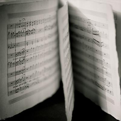 Detail of Page Music
