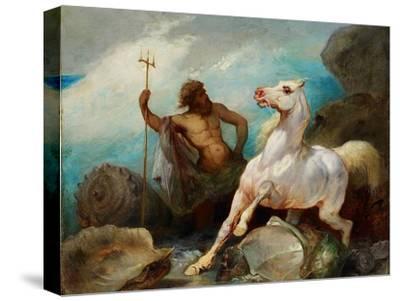 Neptune Creating the Horse, Ca 1845