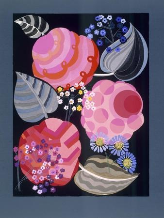 Design from 'Relais', C.1920S-1930 (Colour Litho)