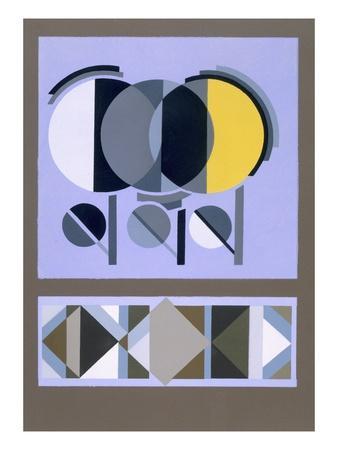 Designs from 'Relais', C.1920S-1930 (Colour Litho)