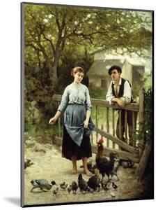 Young Farmers by Edouard Bernard Debat-Ponsan