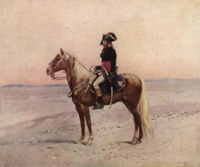 Napoleon I During the Egyptian Campaign 1798