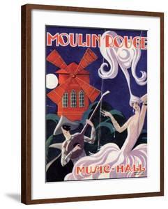 1924 Moulin Rouge Programme by Edouard Halouze
