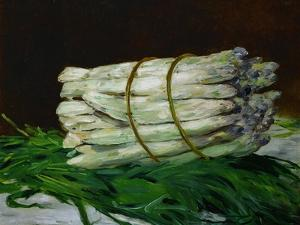 A Bunch of Asparagus, 1880, Formerly in the Collection of Painter Max Liebermann by Edouard Manet