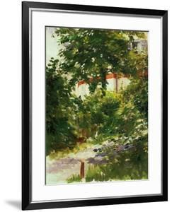 A Corner of the Garden In Rueil, 1882 by Edouard Manet