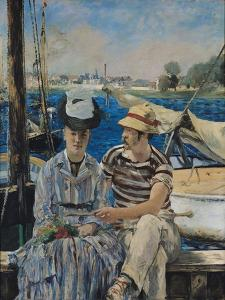 Argenteuil by Edouard Manet