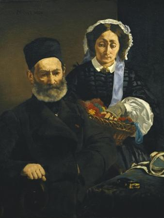 Artist's Parents by Edouard Manet