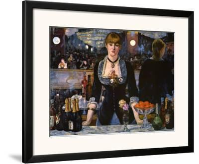 Bar at the Folies-Bergere, 1882 by Edouard Manet