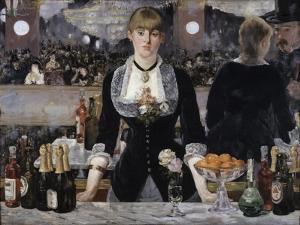Bar at the Folies, Bergeres by Edouard Manet