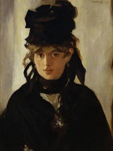 Berthe Morisot with Bouquet of Violets, 1872 by Edouard Manet