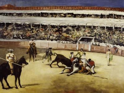 Bullfight, c.1865 by Edouard Manet